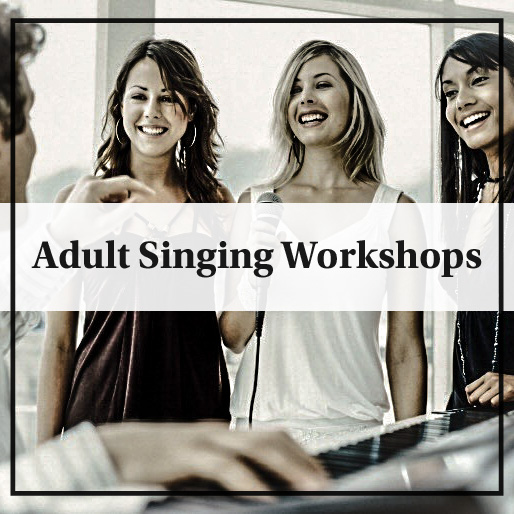 Singing courses for adults, singing courses London