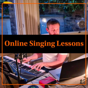 Online singing lessons, professional online singing lessons, private online singing lessons